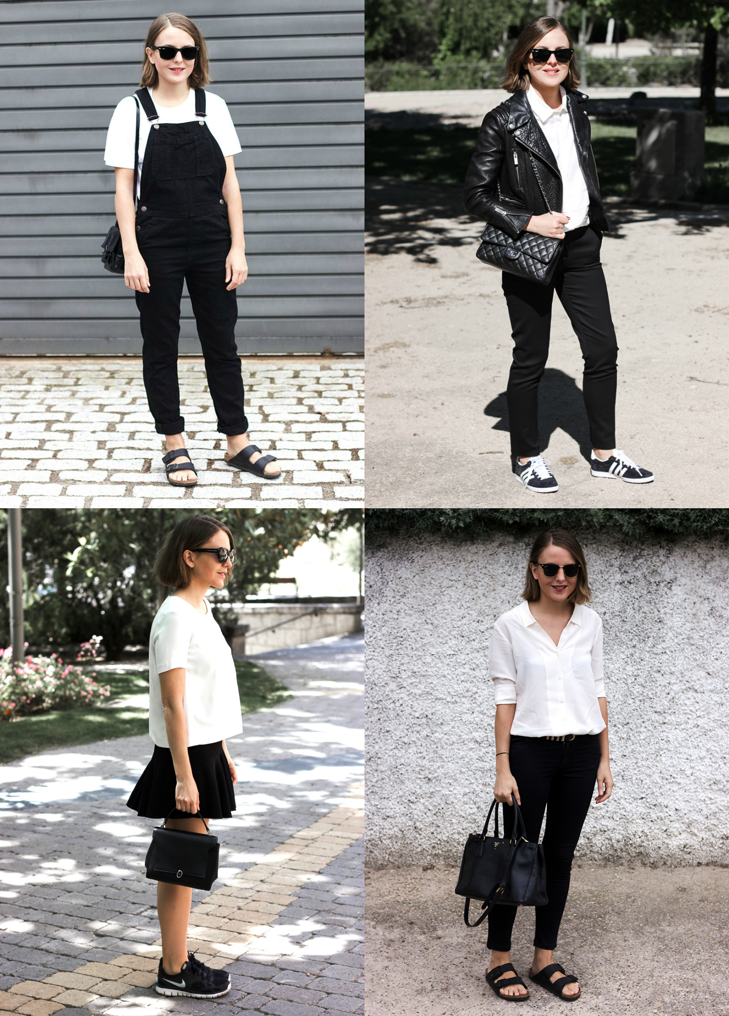 Trini | black and white outfits