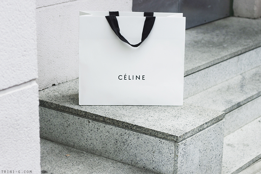 Trini blog | Celine shopping bag