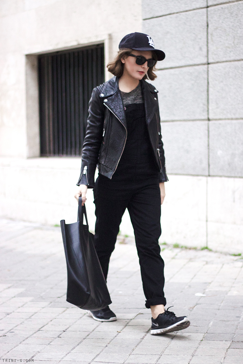 Trini | motorcycle jacket black outfit
