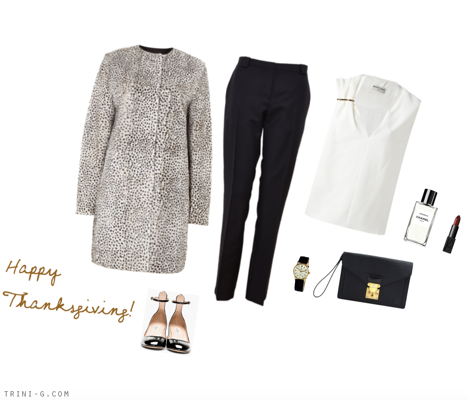 Trini blog | Thanksgiving outfit