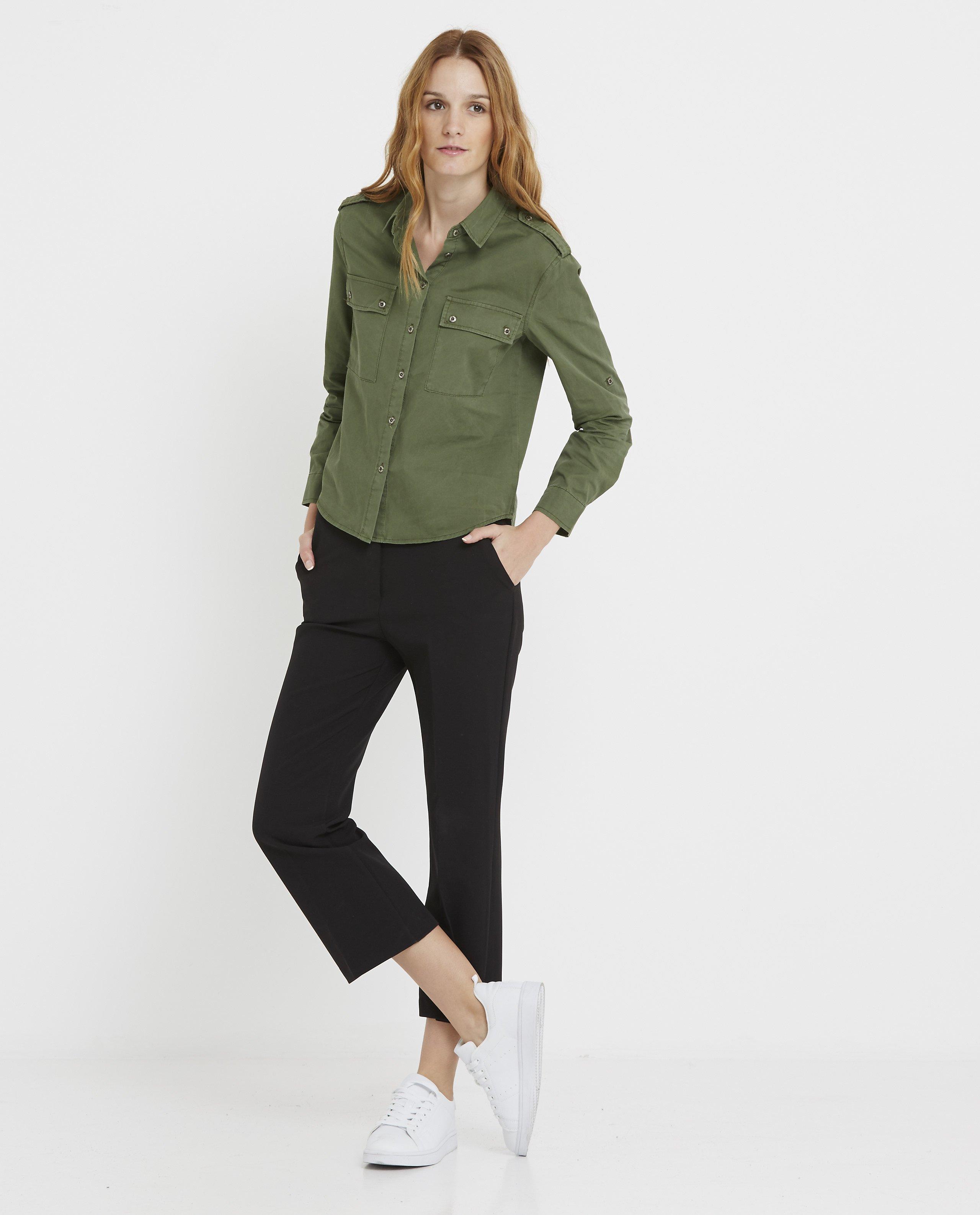 camisa-verde-militar