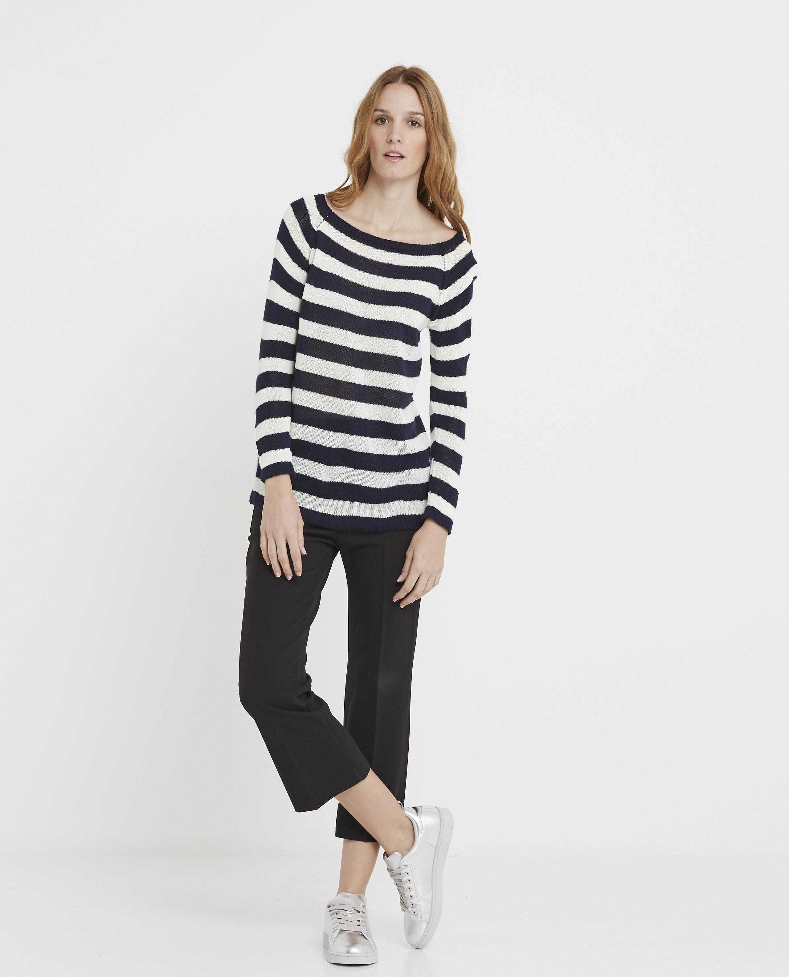 jersey-rayado-navy-blanco