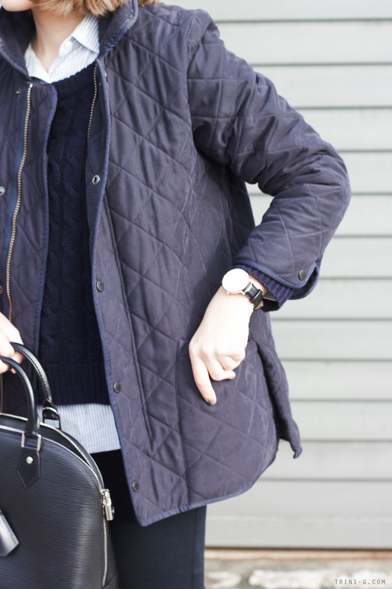 Trini | Barbour navy jacket