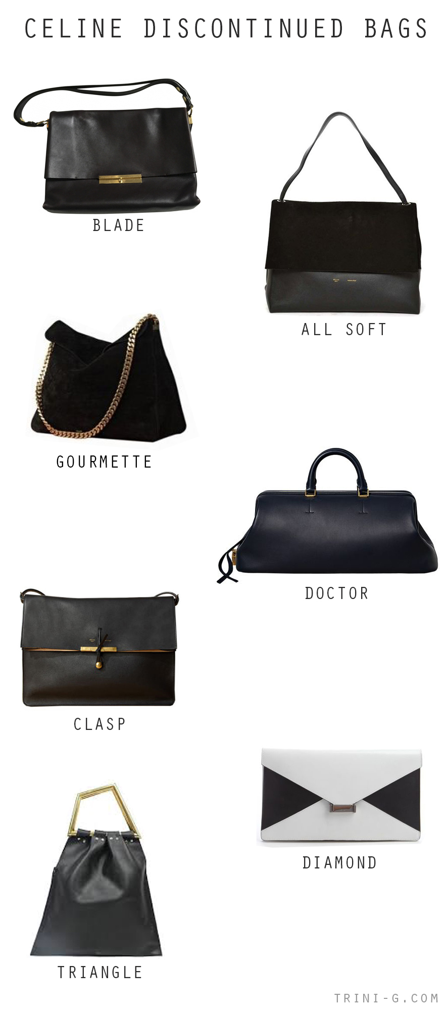 rini blog| Celine discontinued bags