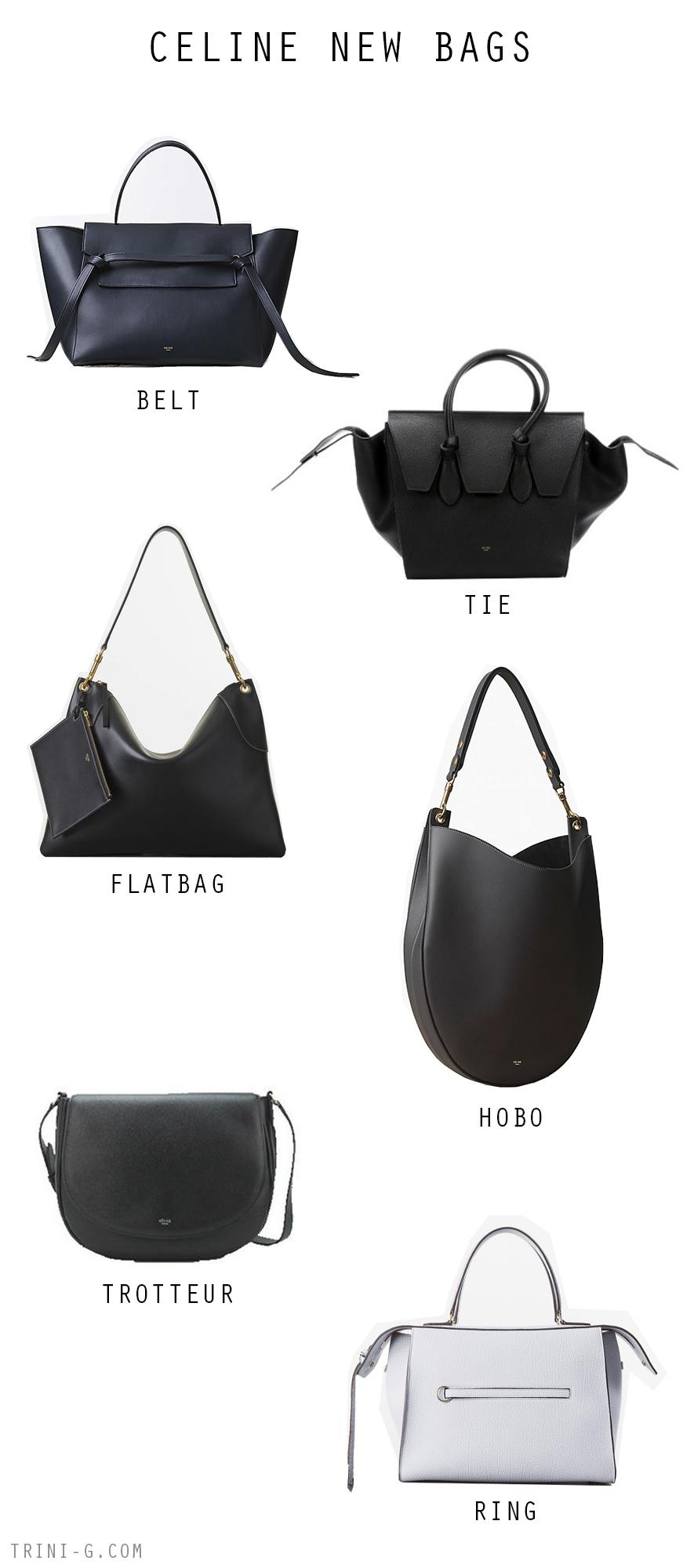 Trini blog| Celine newer bags