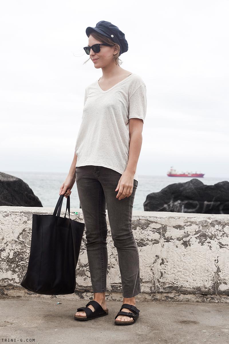 Trini | Grey Topshop jeans