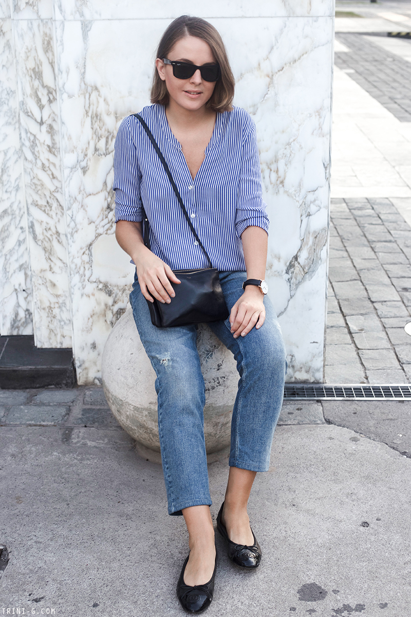 Trini | blue on blue outfit