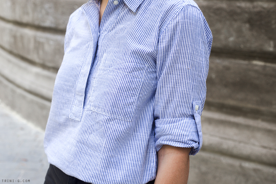 Trini | Gap striped shirt
