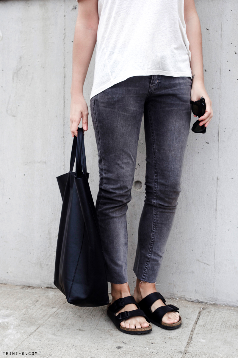Trini | Topshop grey jeans