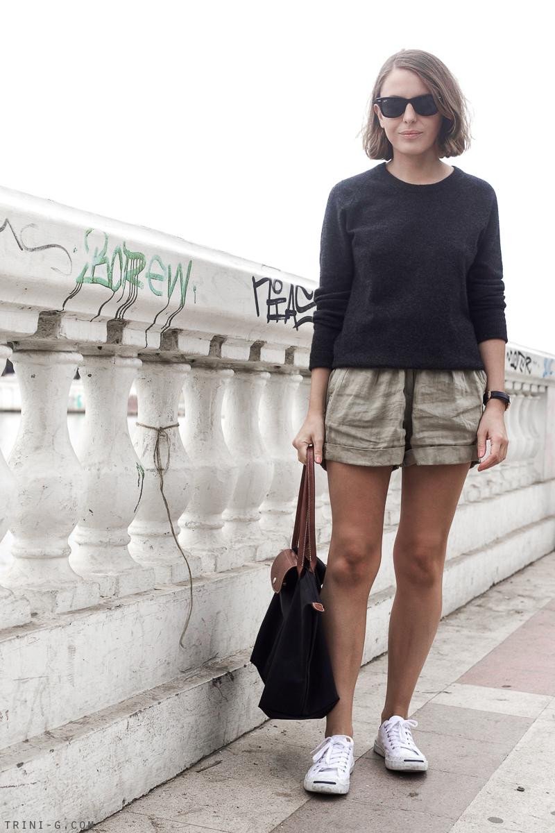 Trini |Isabel Marant Etoile linen shorts