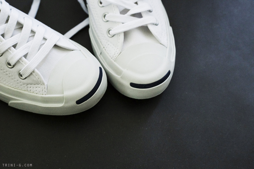 Trini | Converse Jack Purcell white sneakers