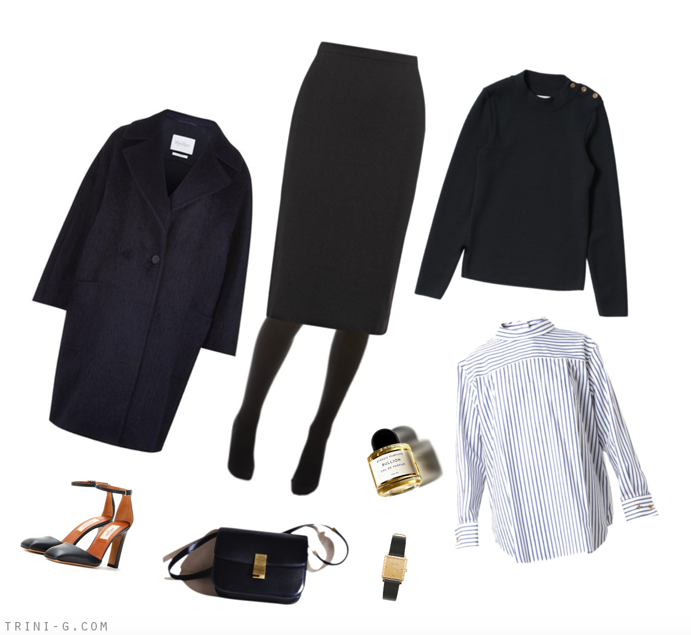 Trini blog| Winter navy outfit
