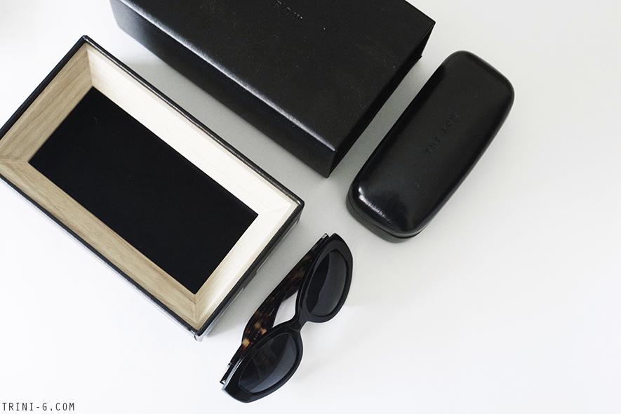 Trini blog | The Row oval sunglasses