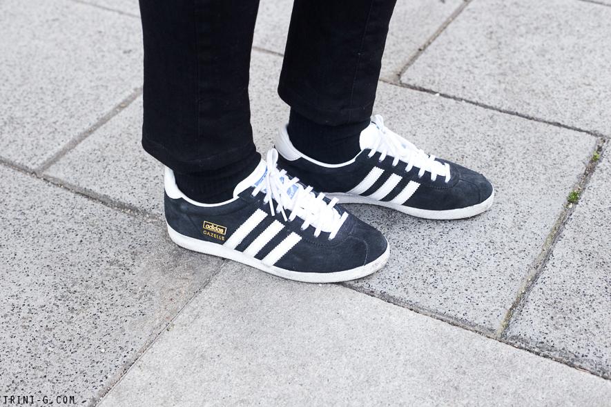 Adidas Gazelle Black Outfit