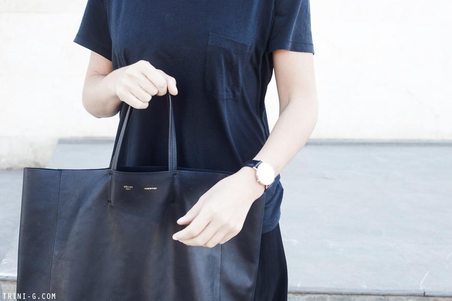 7f4e08ac3 Birkenstock sandals Céline black cabas bag | Trini