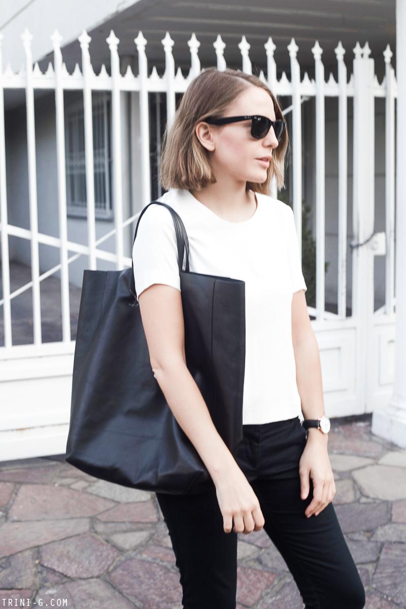 Trini | Celine black cabas bag