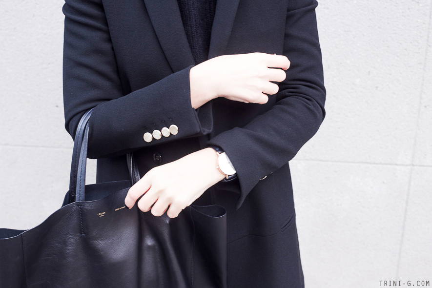 Trini | Daniel Wellington watch Céline cabas bag
