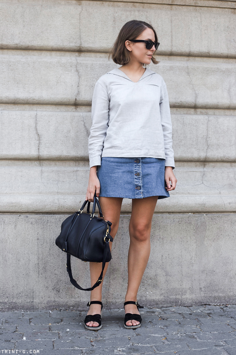 Trini | Stella McCartney denim skirt
