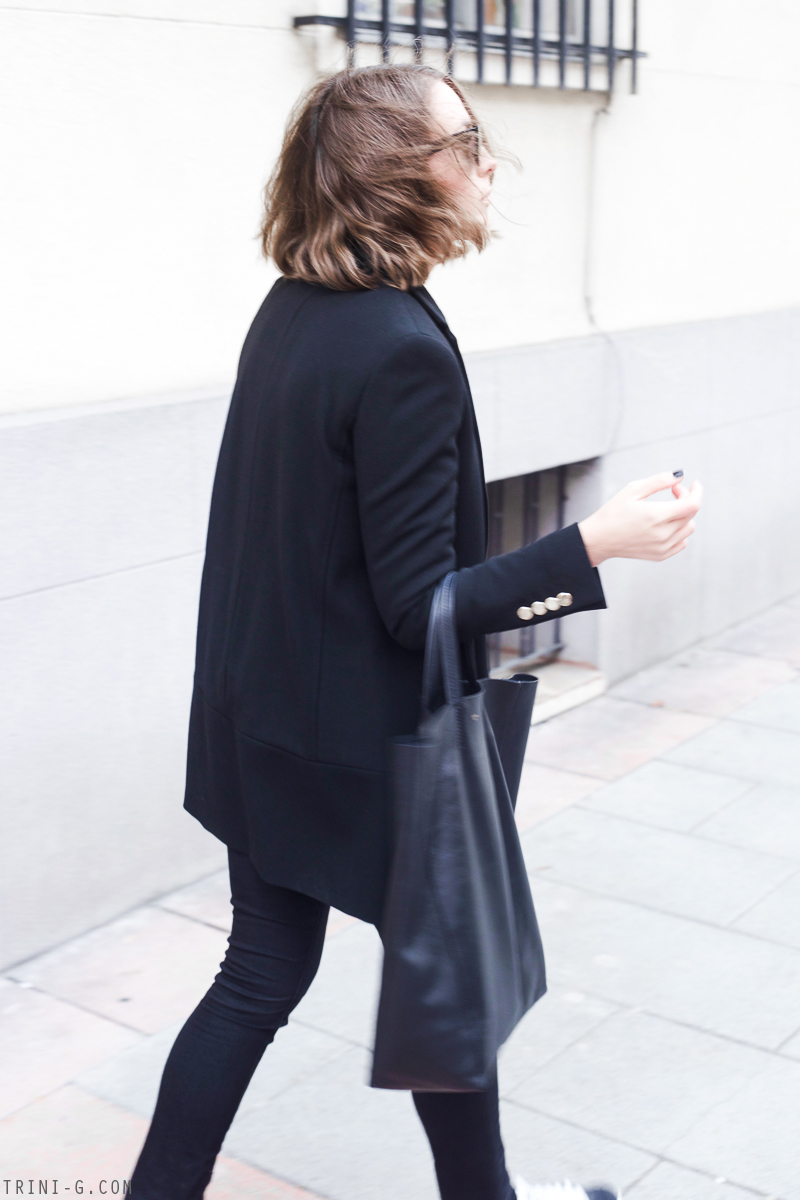 Trini | The Kooples black coat