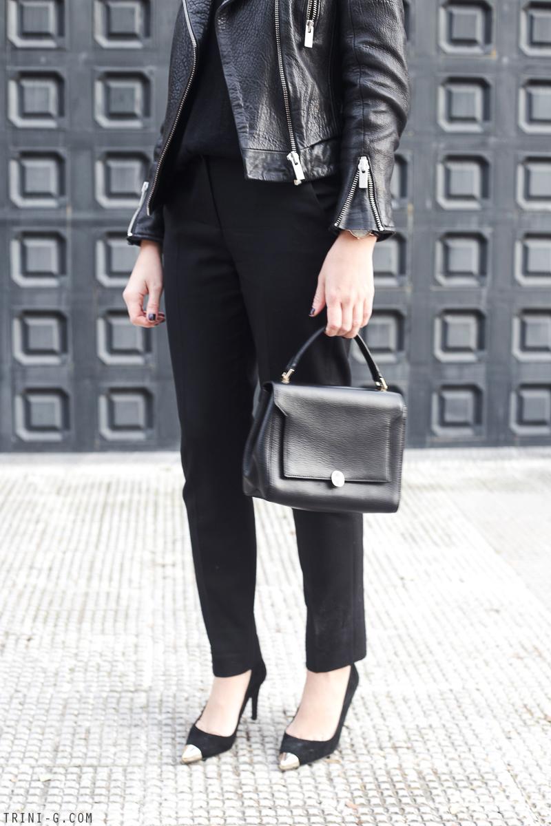 Trini | The Kooples black trousers