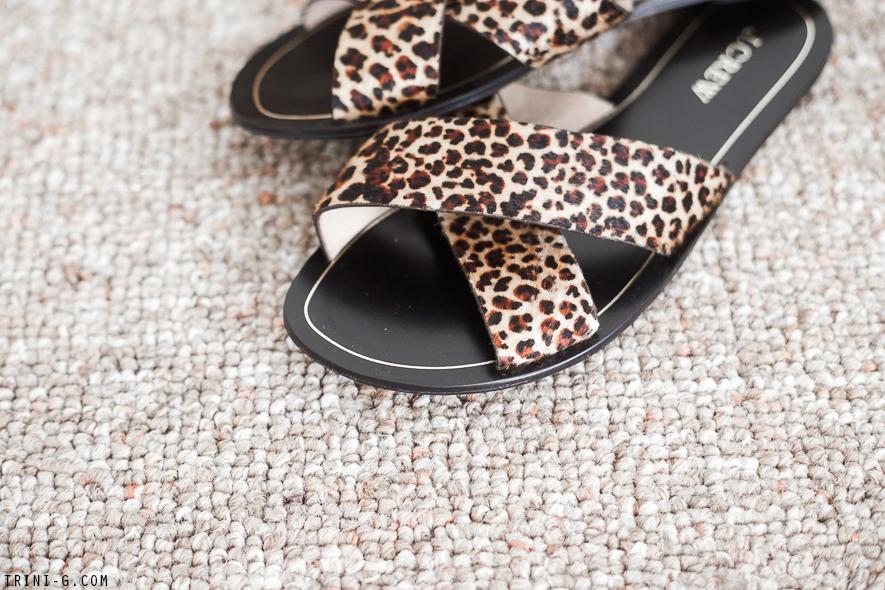Trini blog | J.Crew leopard slides