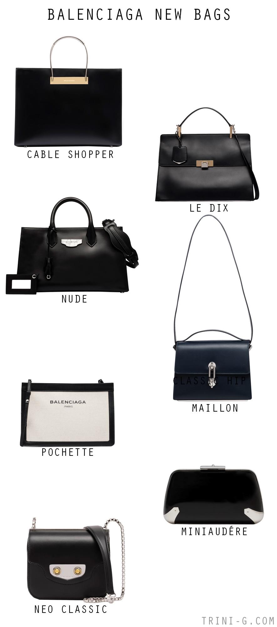 BALENCIAGA NEW BAGS
