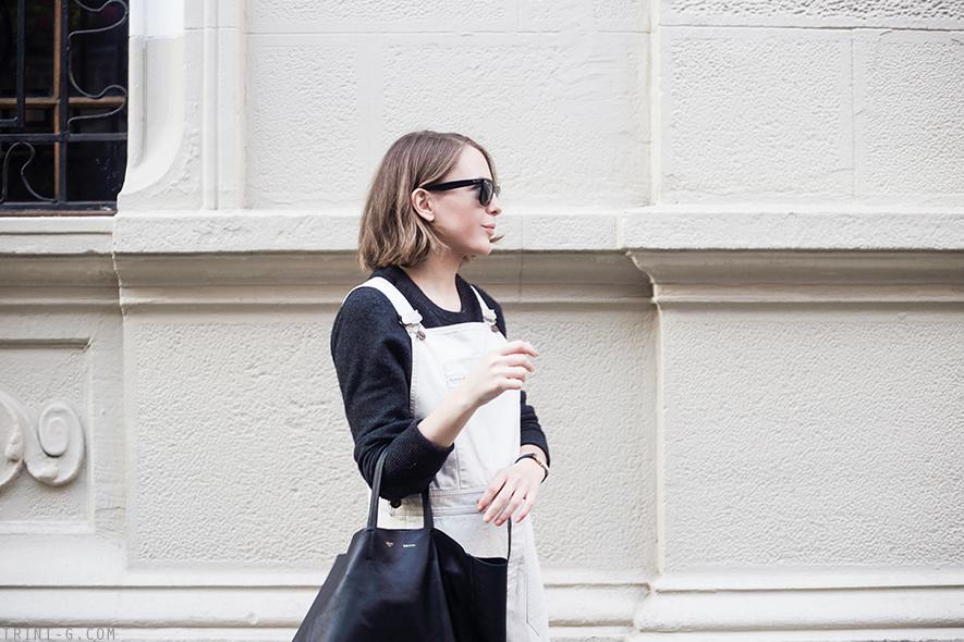 Trini | Equipment Sloane sweater Céline vertical cabas bag