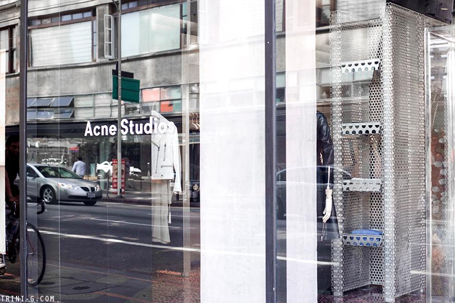 Bien connu Acne Studios Los Angeles store | Trini YP98