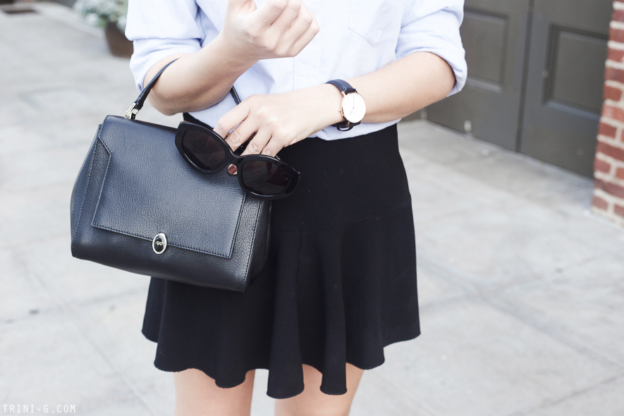 Trini | Daniel Wellington watch Anya Hindmarch bag