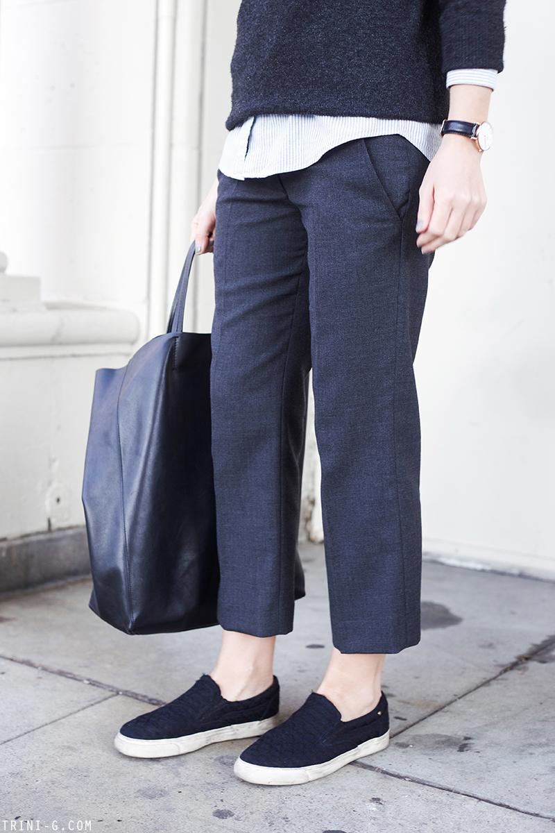 Trini | Isabel Marant trousers Celine cabas bag
