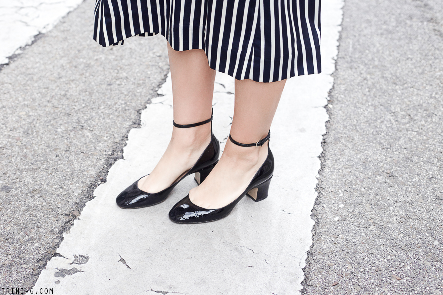 Trini | Valentino Tango shoes J.Crew skirt