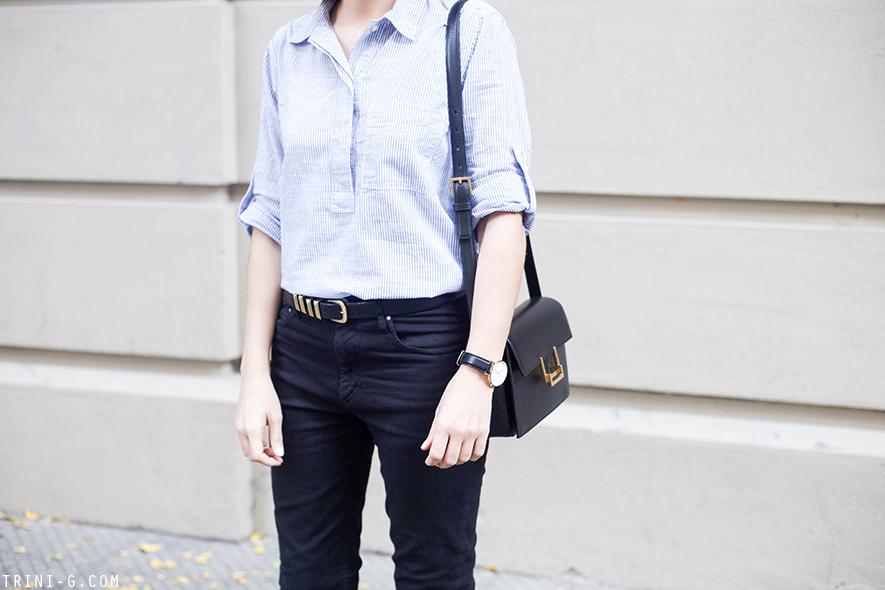 Trini | Isabel Marant Etoile jeans Saint Laurent Lulu bag