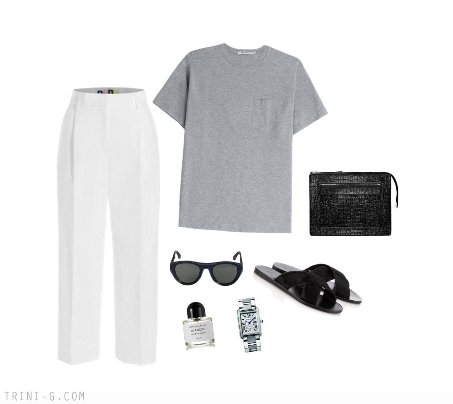 Trini blog | T by Alexander Wang t-shirt Mykita sunglasses