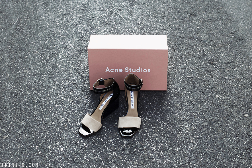 Trini blog |Acne Studios Haze wedges