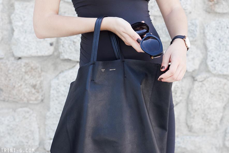 Trini | The Row sunglasses Céline cabas bag