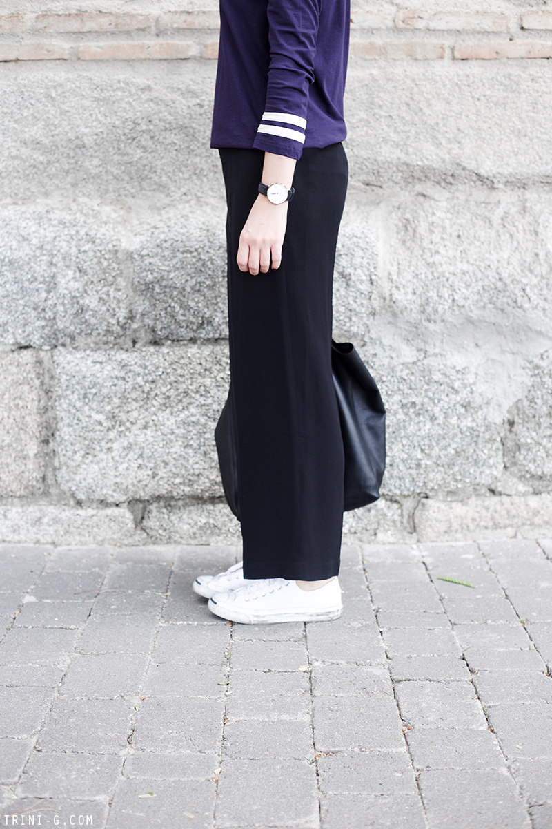 Trini | APC sailor top Theyskens Theory pants