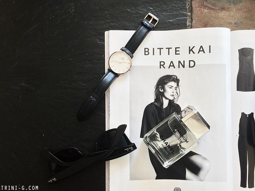 Trini blog | Ray-Ban wayfarer Chanel Egoiste