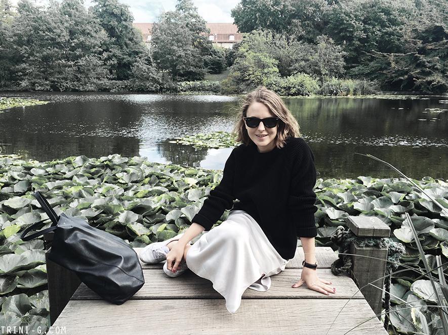 Trini | The Kooples sweater Bruuns Bazaar skirt