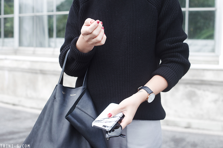 Trini |The Kooples sweater Bruuns Bazaar skirt