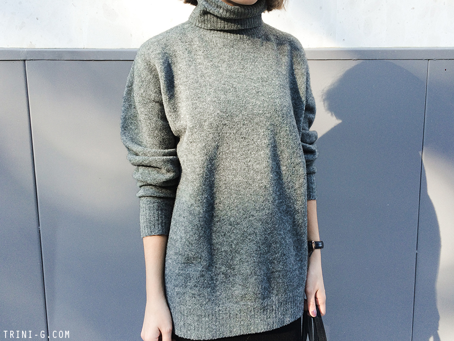 balenciaga grey sweater
