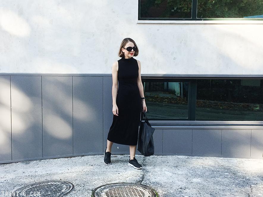 Trini | The Reformation black dress