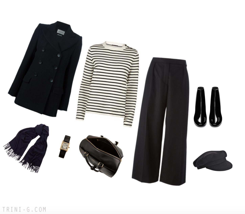 Trini Blog |Saint Laurent boots Maje sweater