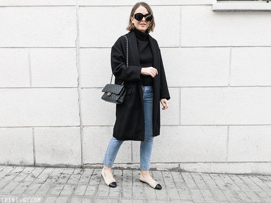 Trini   Isabel Marant coat Chanel flats