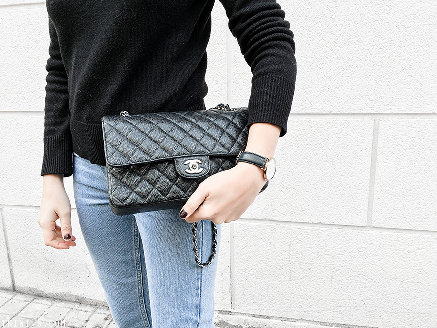 Trini | Isabel Marant coat Chanel flats