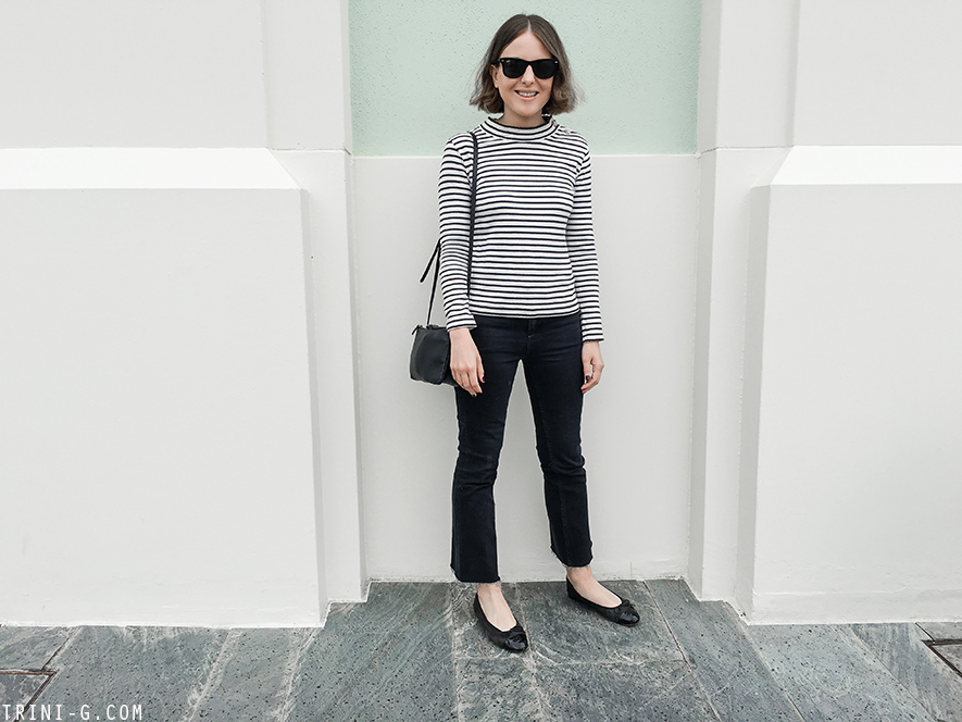 Trini | Chanel flats Céline trio bag