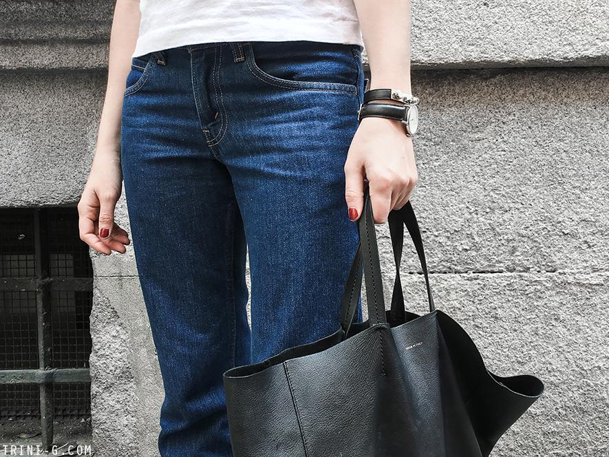 Trini | Levi's jeans Comme des Garçons Play tshirt