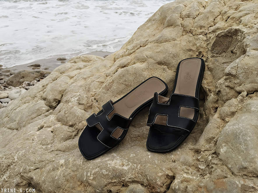 Trini   HERMES Oran sandals