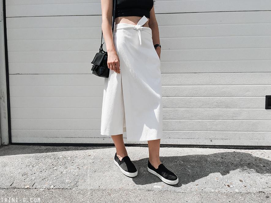 Trini |Maje skirt Céline sneakers
