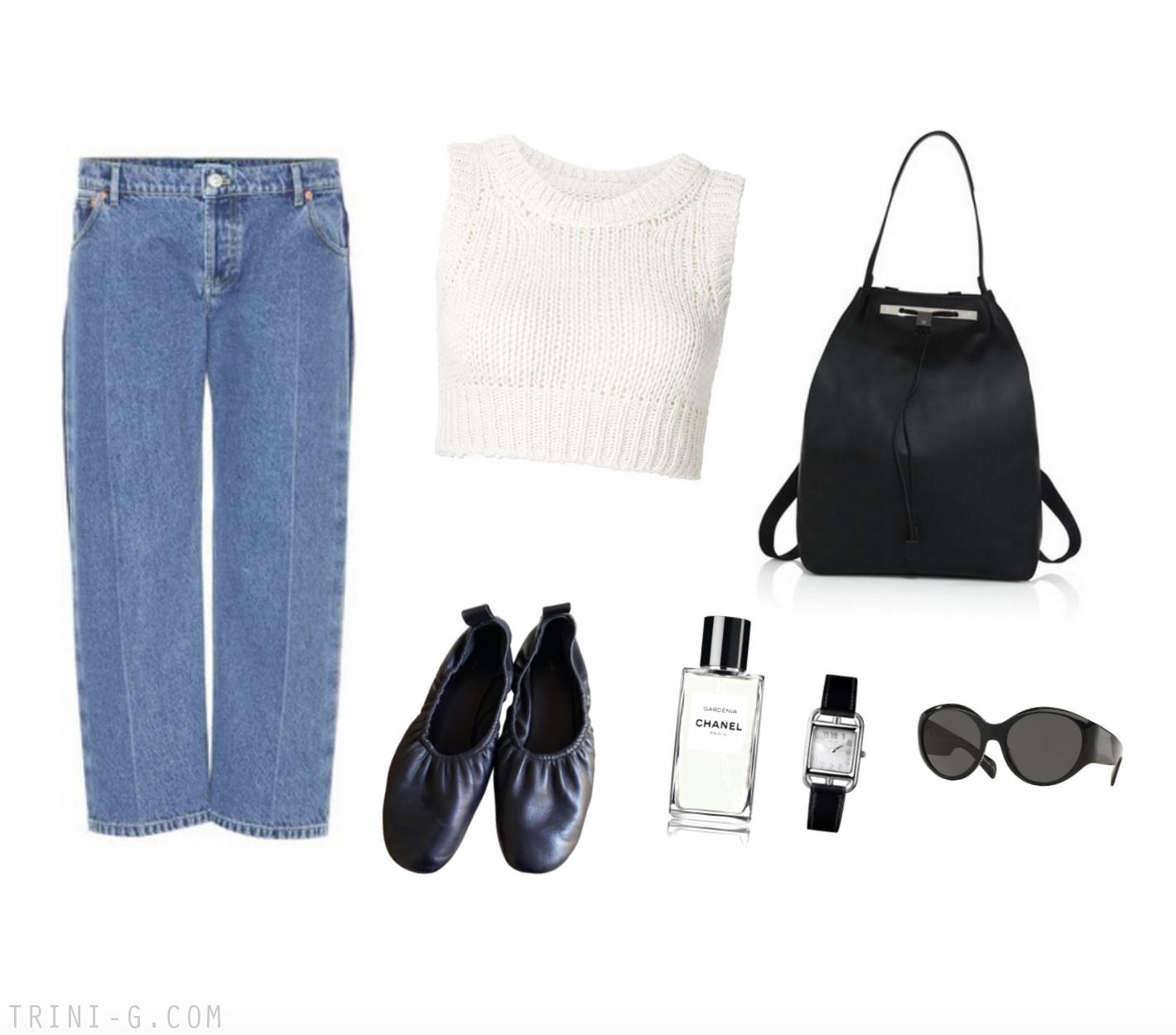 Trini | Balenciaga jeans Céline flas