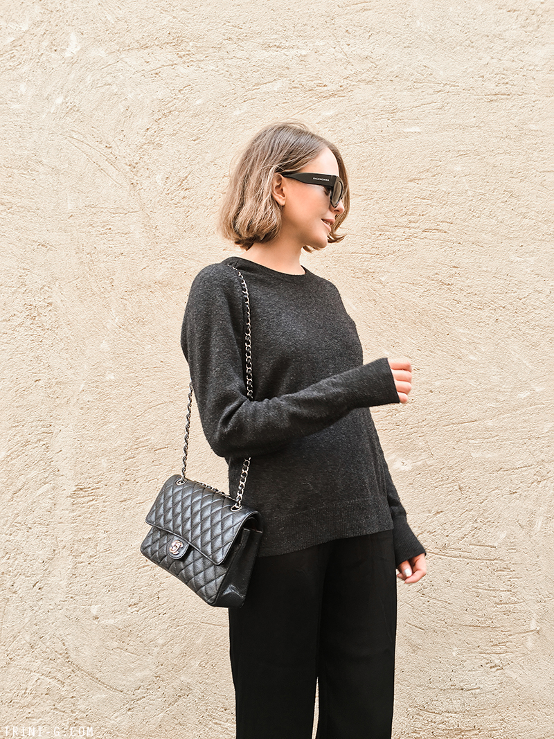 Trini | Equipment sweater Chanel ballet flats